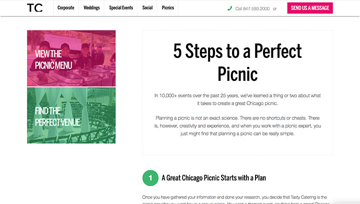 5 Steps to a Perfect Picnic