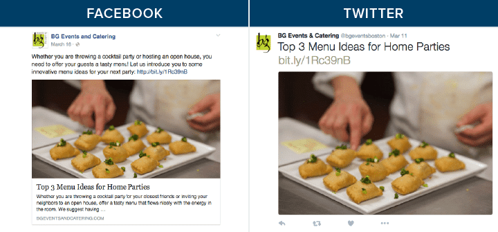 BG Events and Catering Facebook & Twitter Messaging-01