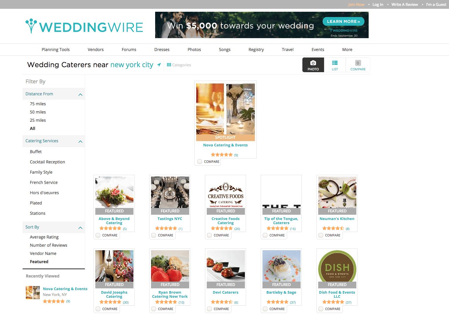Wedding Wire Spotlight Catering Vendor