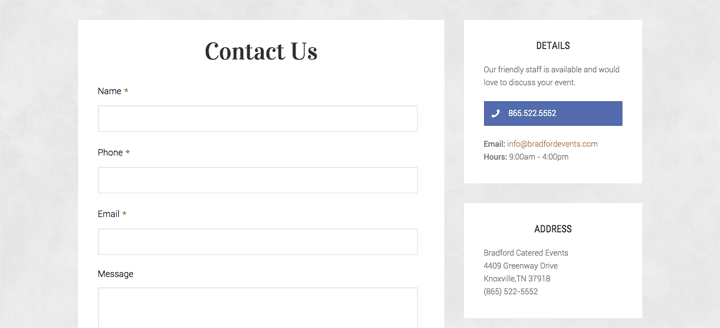 Update Your Contact Form for 2016