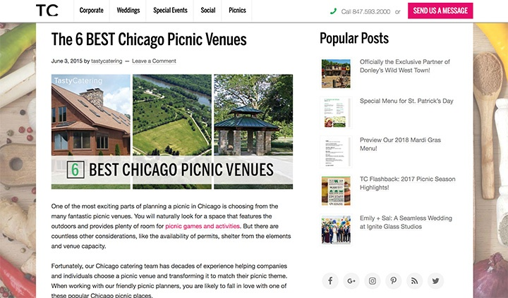 6 Best Chicago Picnic Venues Blog