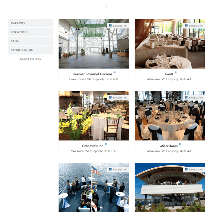 Zilli Hospitality Group Venue Page