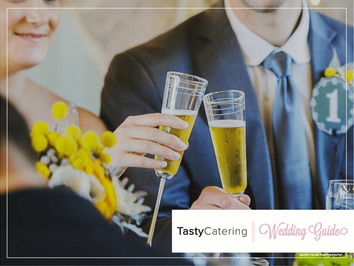 Wedding catering guide from Tasty Catering.