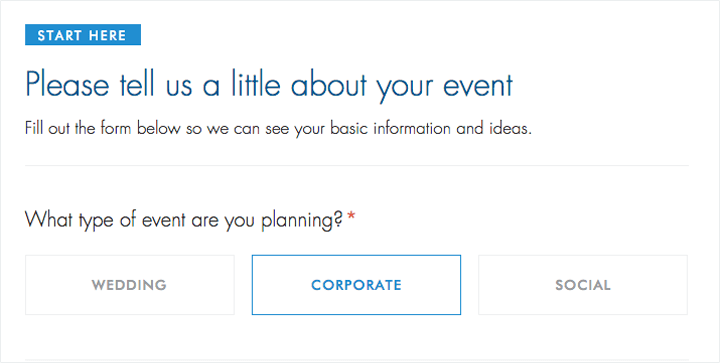 A solid contact form headline.