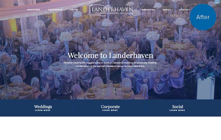 Landerhaven Website After