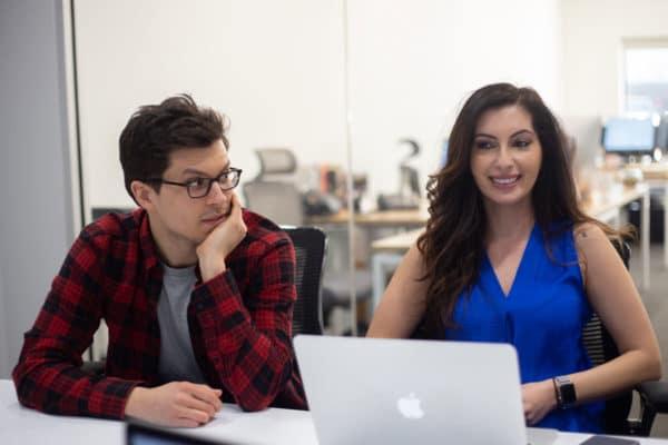 Michael and Peggy crushing digital marketing