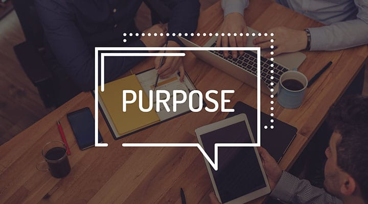 Build company culture by defining your purpose.