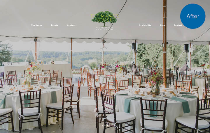 Springton Manor Farm Website After