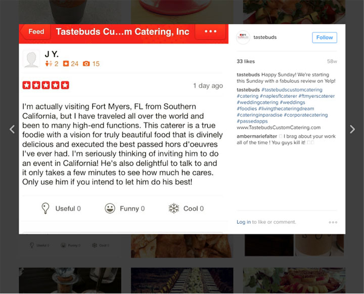 Tastebuds Catering Reviews