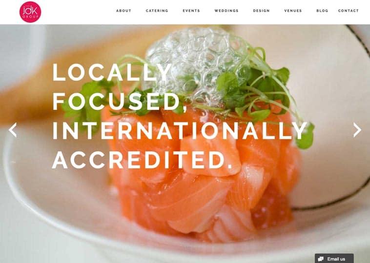 The JDK Group website screenshot