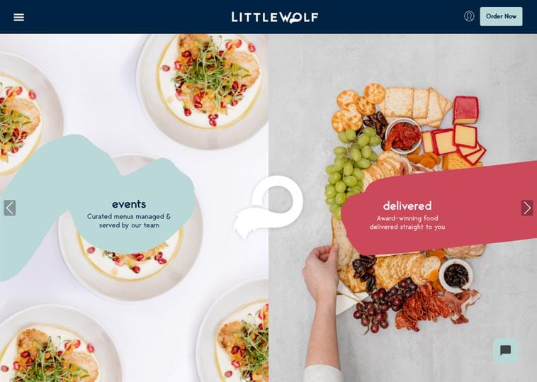 Little Wolf Catering Website