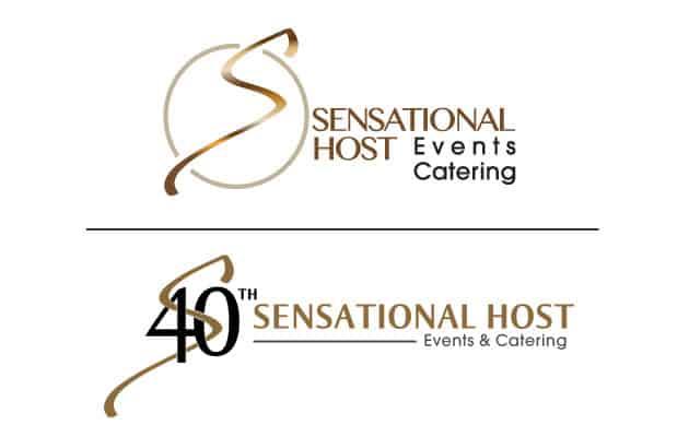 Sensational Hosts company anniversary logo