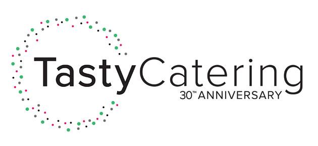 Tasty Catering 30th anniversary company logo