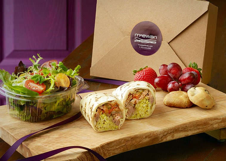 McEwan Catering boxed lunch