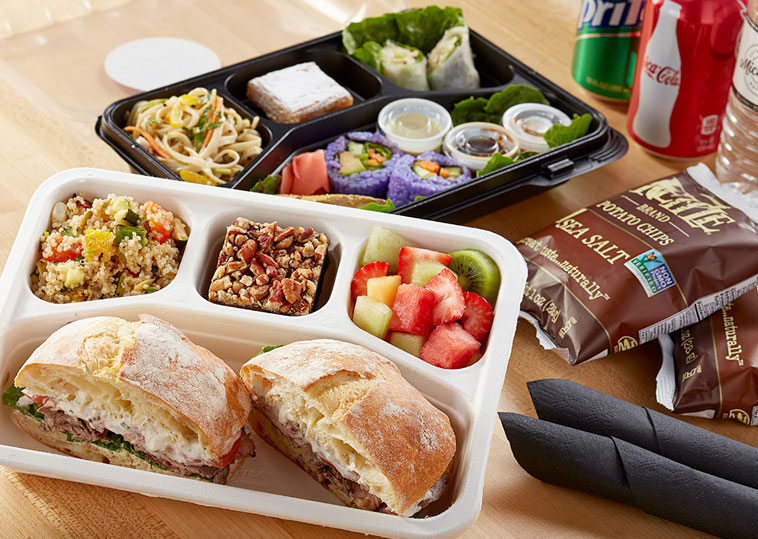 Catering by Michael's meal to go box