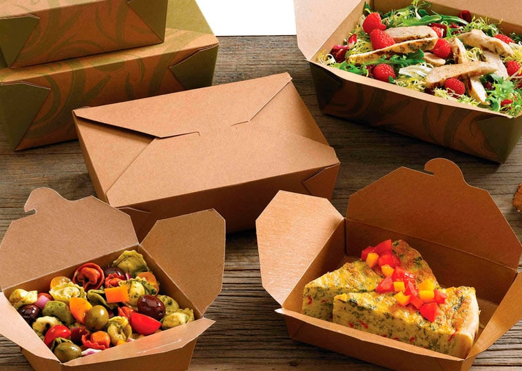 JW Catering Boxed Lunch Packaging