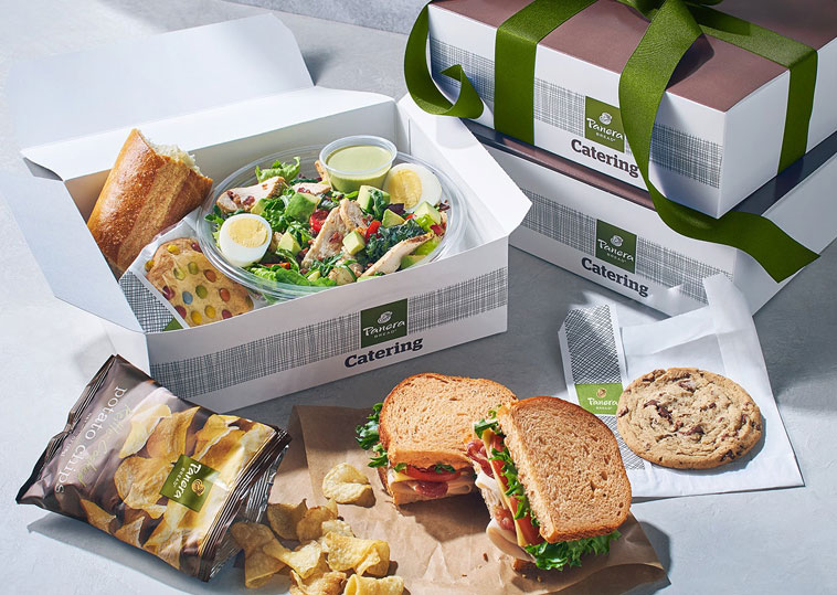 Panera Bread Catering packaging