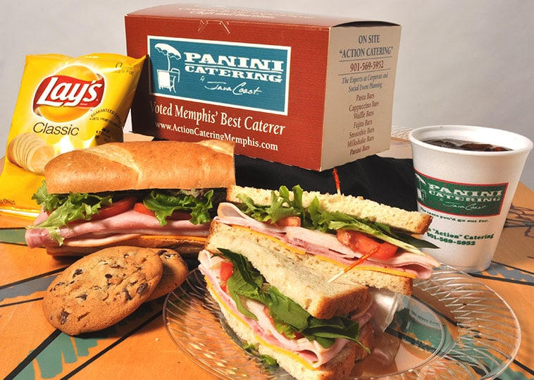 Panini Catering boxed lunch