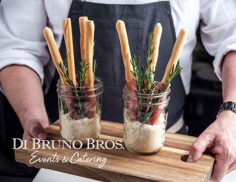Di Bruno Bros Catering Menu Design