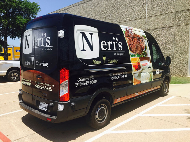 Neri's Bistro Catering Truck Wrap