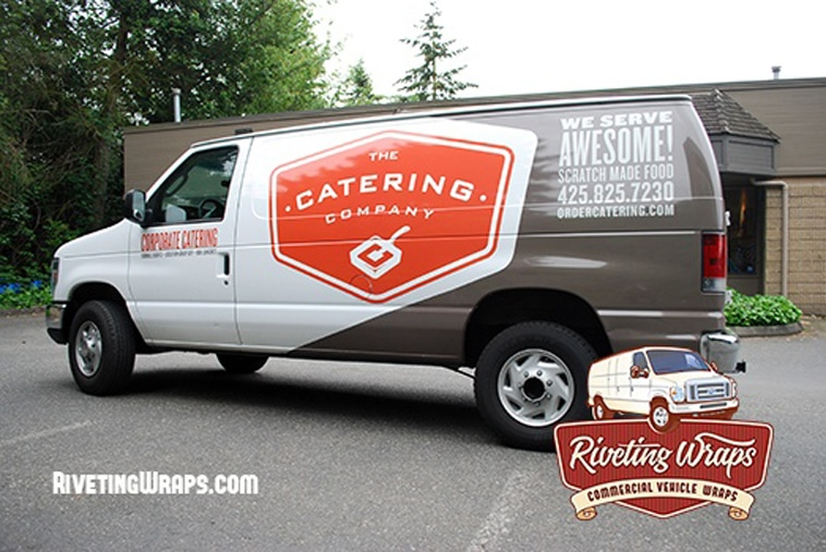 The Catering Company Truck Wrap