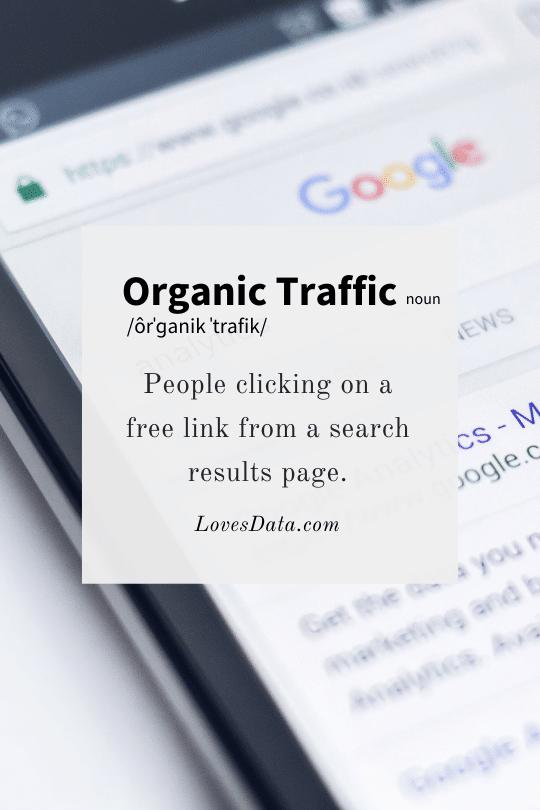 Organic Traffic Definition