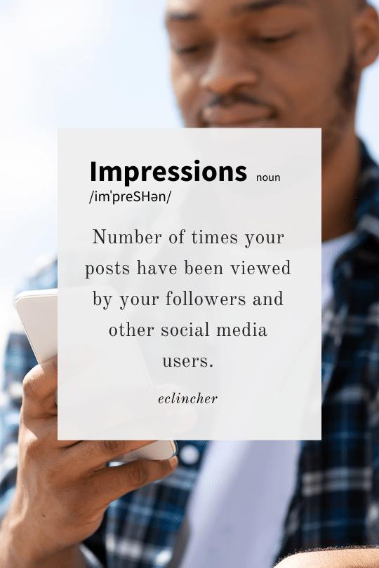 Impressions Definition