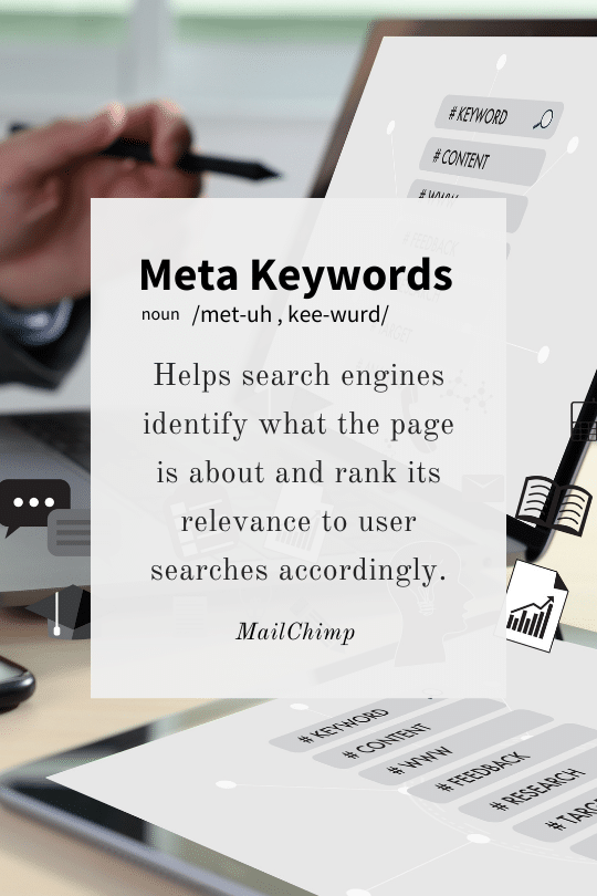 Meta Keywords Definition