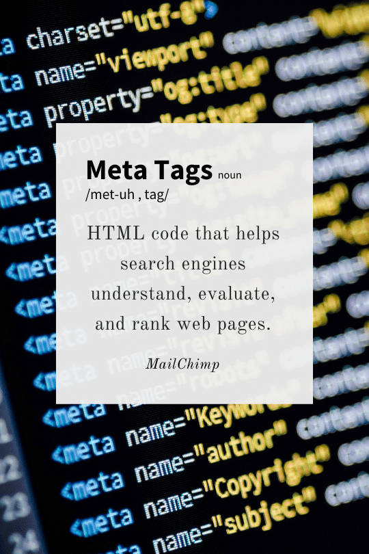 Meta Tags Definition