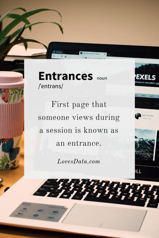 Entrances Definition