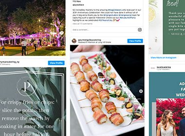 Catering Instagram Post Ideas